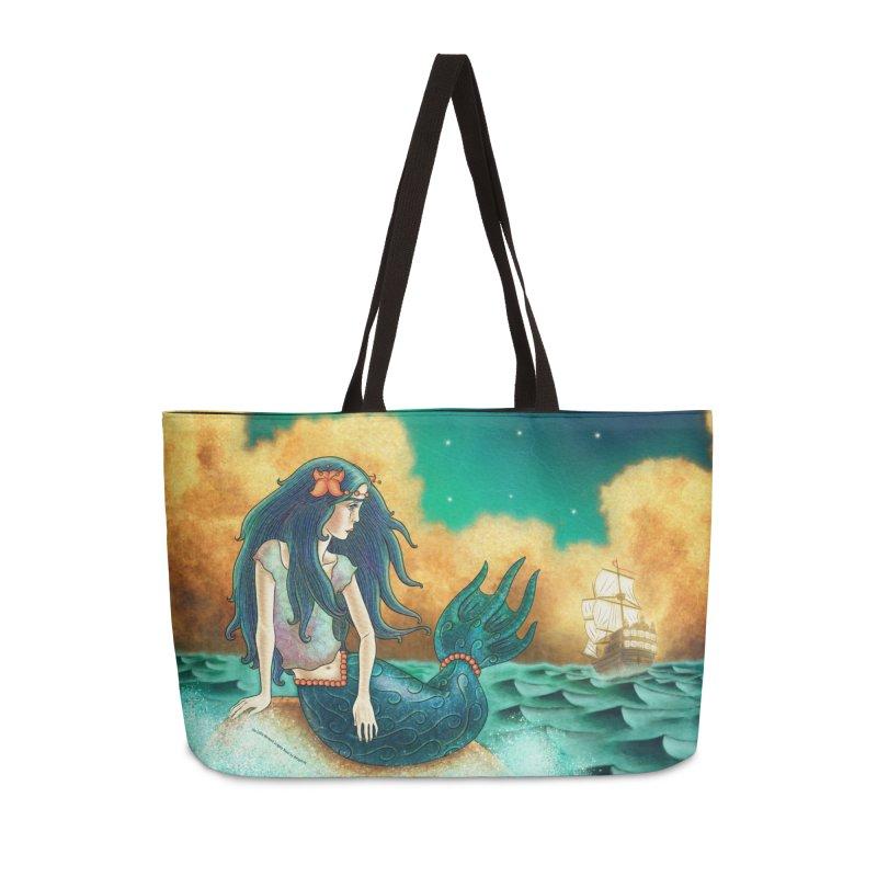 Little Mermaid Weekender Bag Accessories Bag by The Metaphrog Artist Shop