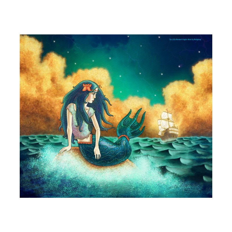Little Mermaid Duvet by The Metaphrog Artist Shop