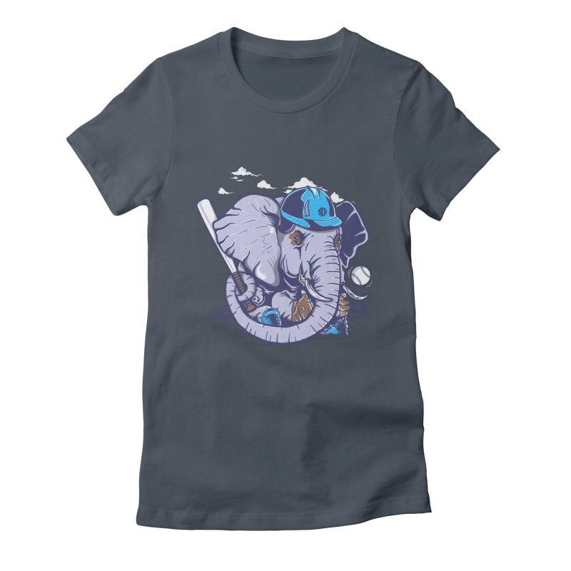 Let's Play Women's Fitted T-Shirt by methlop39's Artist Shop