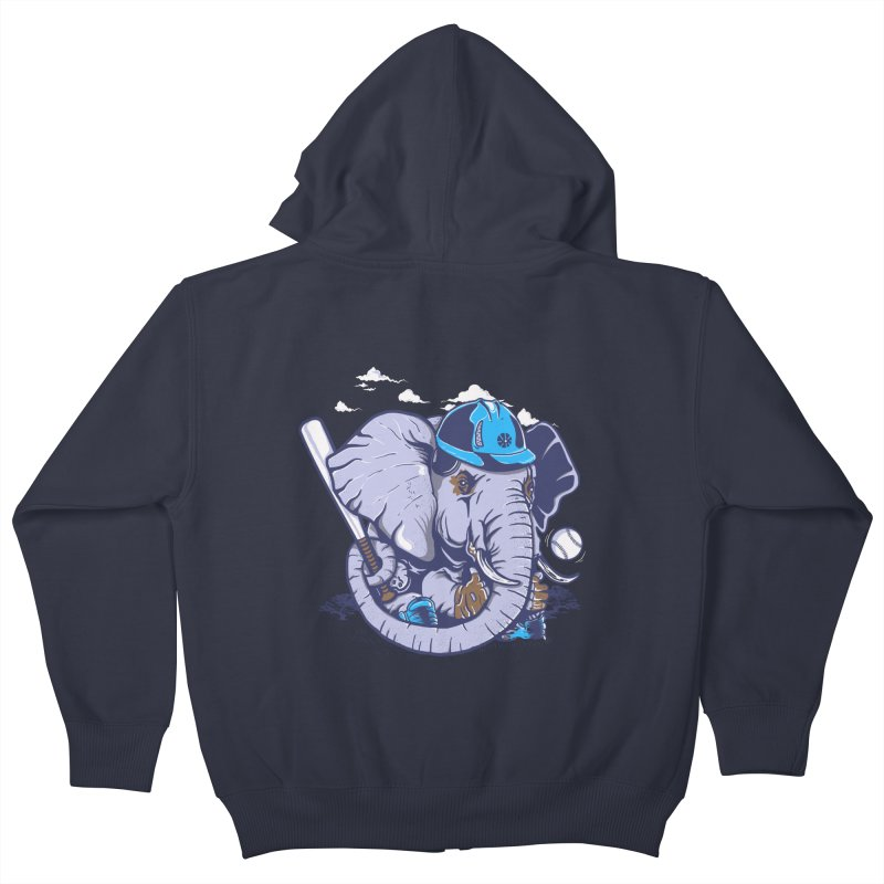 Let's Play Kids Zip-Up Hoody by methlop39's Artist Shop