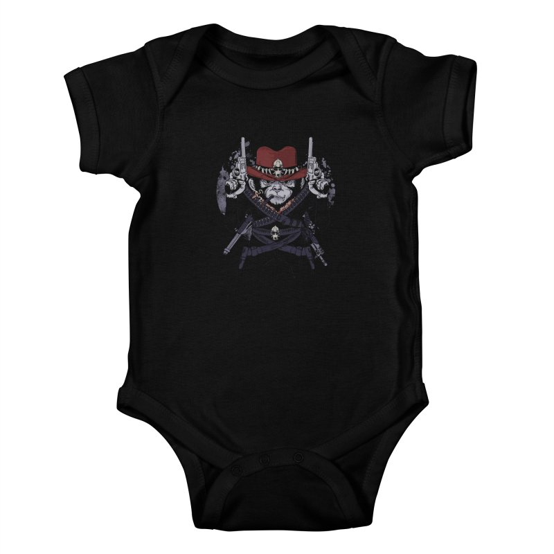 the bandit Kids Baby Bodysuit by methlop39's Artist Shop