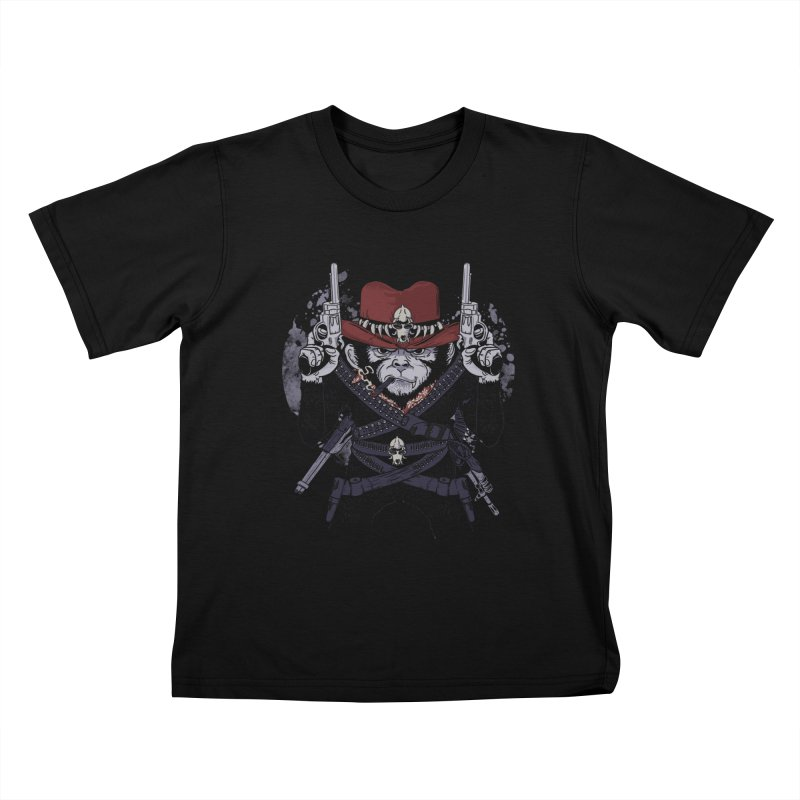 the bandit Kids T-Shirt by methlop39's Artist Shop
