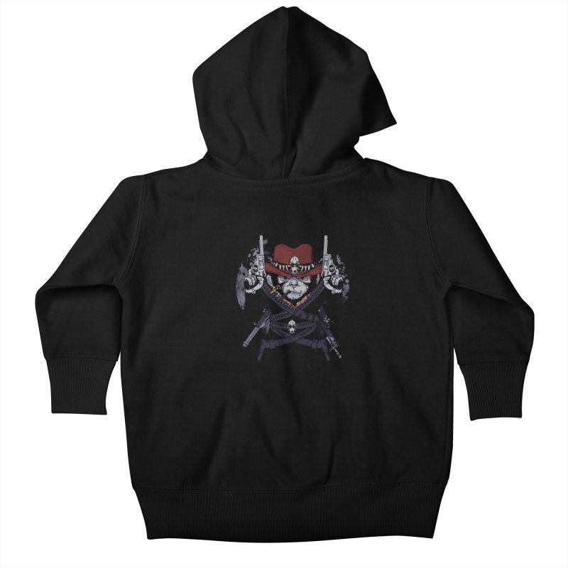 the bandit Kids Baby Zip-Up Hoody by methlop39's Artist Shop