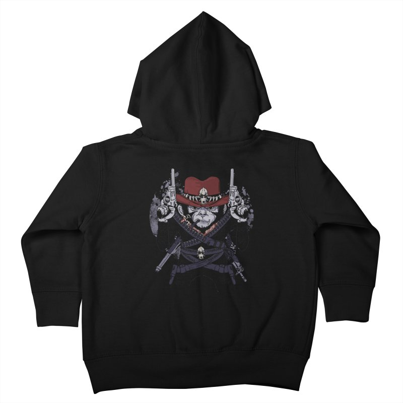 the bandit Kids Toddler Zip-Up Hoody by methlop39's Artist Shop