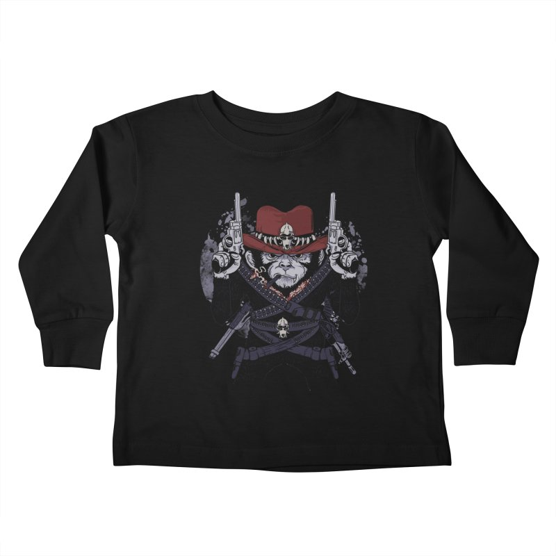 the bandit Kids Toddler Longsleeve T-Shirt by methlop39's Artist Shop