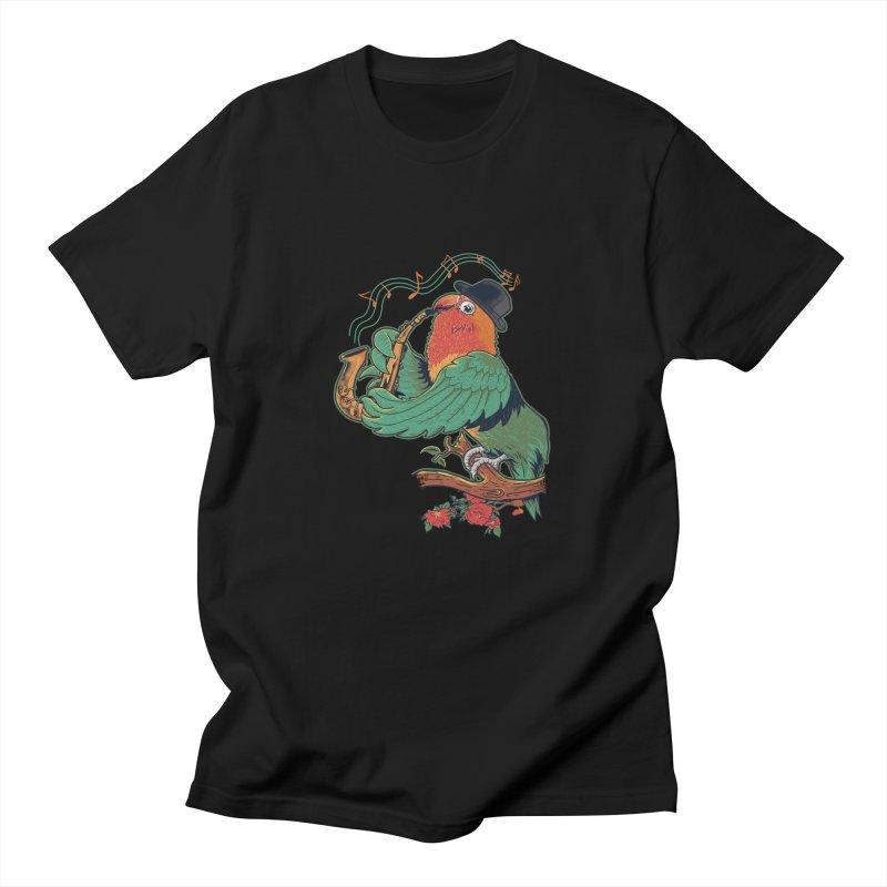 love bird Men's Regular T-Shirt by methlop39's Artist Shop