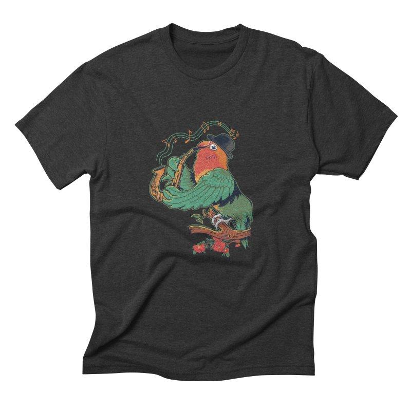 love bird Men's Triblend T-shirt by methlop39's Artist Shop