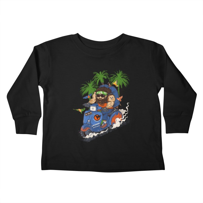 bird master Kids Toddler Longsleeve T-Shirt by methlop39's Artist Shop
