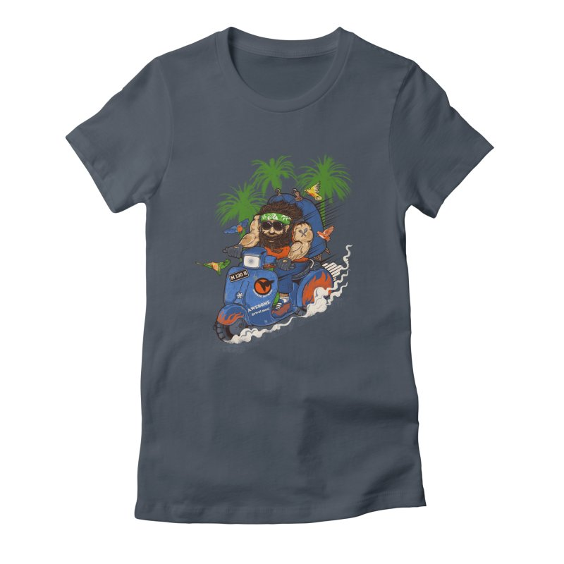 bird master Women's Fitted T-Shirt by methlop39's Artist Shop