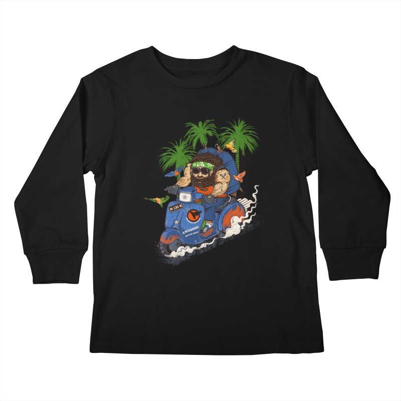 bird master Kids Longsleeve T-Shirt by methlop39's Artist Shop