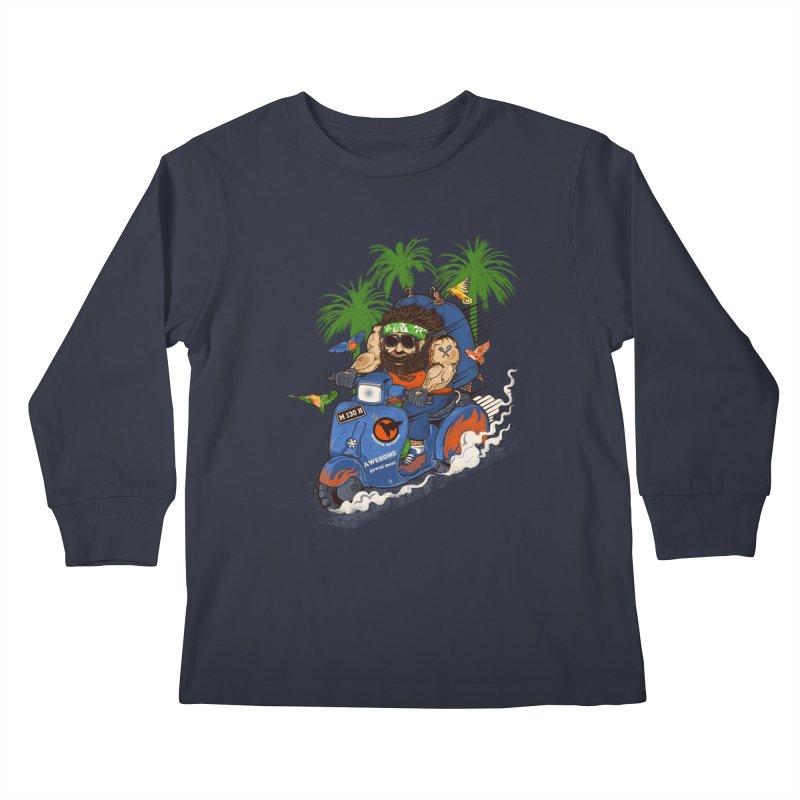bird master Kids Longsleeve T-Shirt by methlop39's Artist Shop