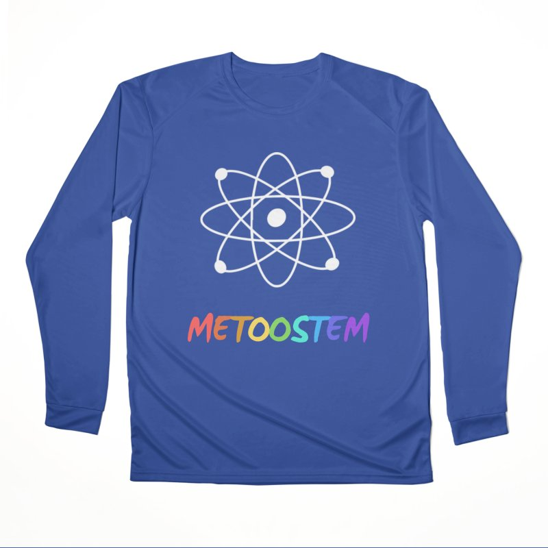 MeTooSTEM Rainbow Women's Performance Unisex Longsleeve T-Shirt by MeTooSTEM