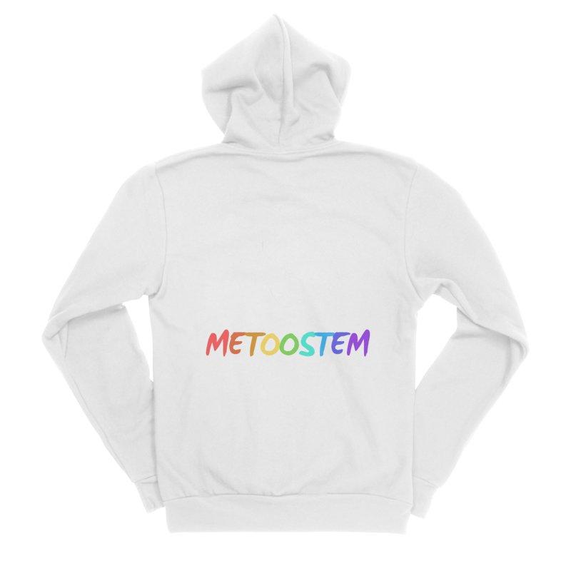 MeTooSTEM Rainbow Women's Sponge Fleece Zip-Up Hoody by MeTooSTEM