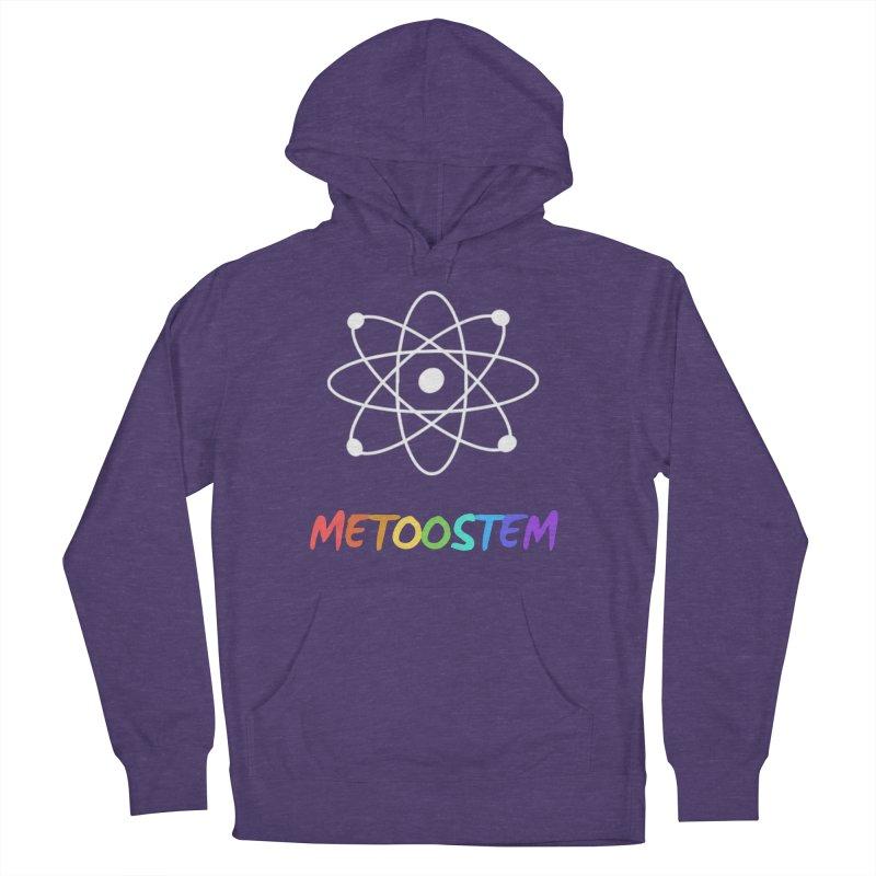 MeTooSTEM Rainbow Women's French Terry Pullover Hoody by MeTooSTEM