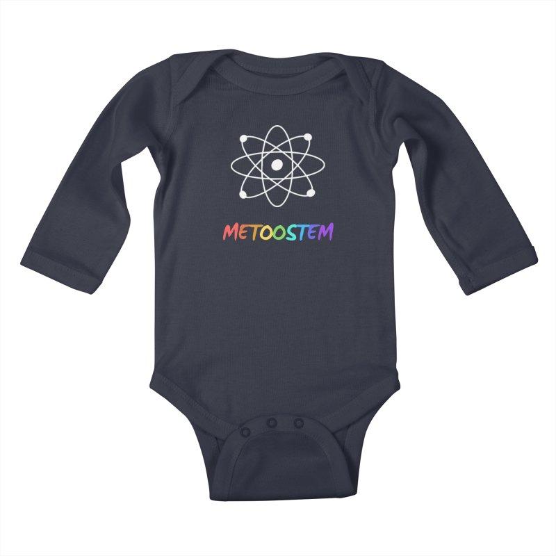 MeTooSTEM Rainbow Kids Baby Longsleeve Bodysuit by MeTooSTEM
