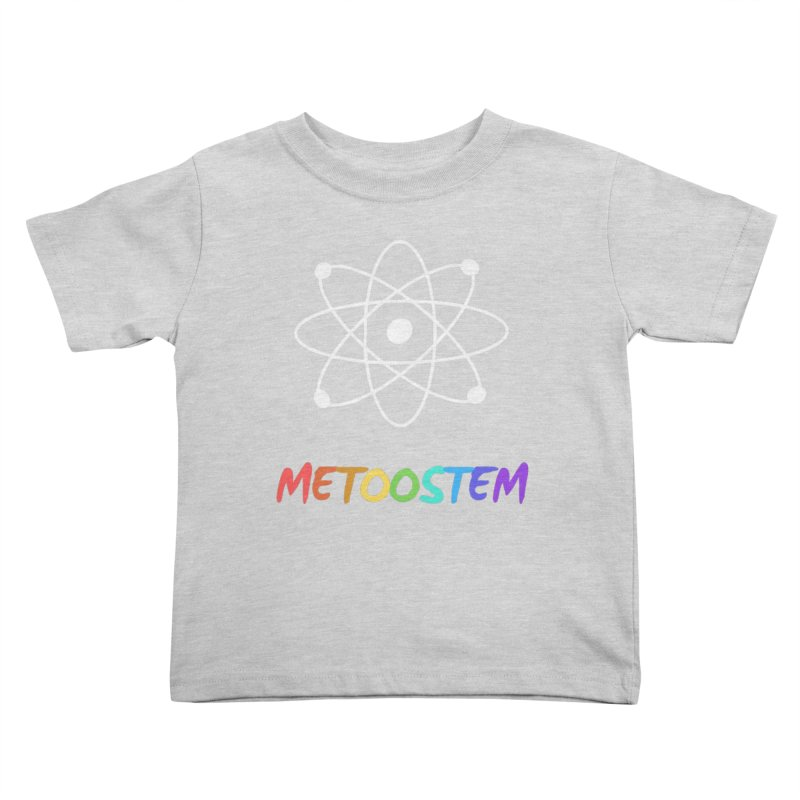 MeTooSTEM Rainbow Kids Toddler T-Shirt by MeTooSTEM