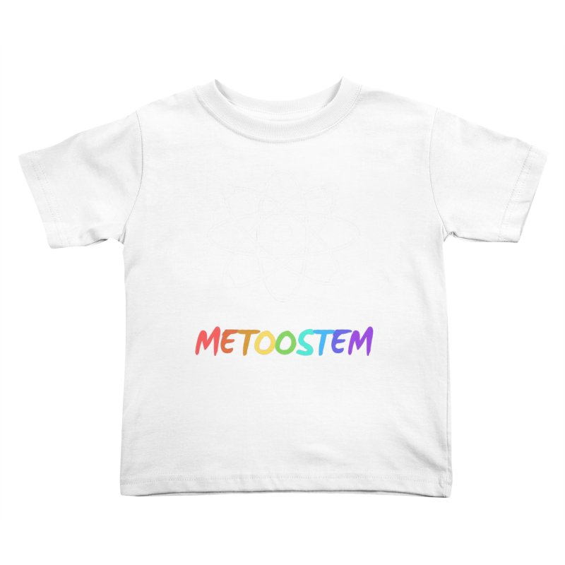 MeTooSTEM Rainbow Kids Toddler T-Shirt by MeTooSTEM