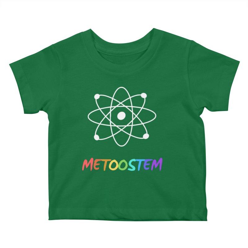 MeTooSTEM Rainbow Kids Baby T-Shirt by MeTooSTEM