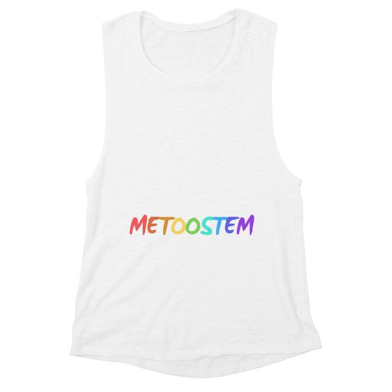 MeTooSTEM Rainbow Women's Muscle Tank by MeTooSTEM