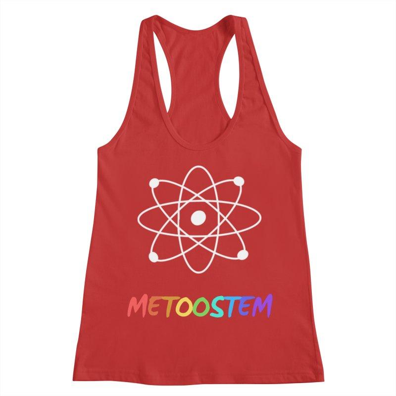 MeTooSTEM Rainbow Women's Racerback Tank by MeTooSTEM