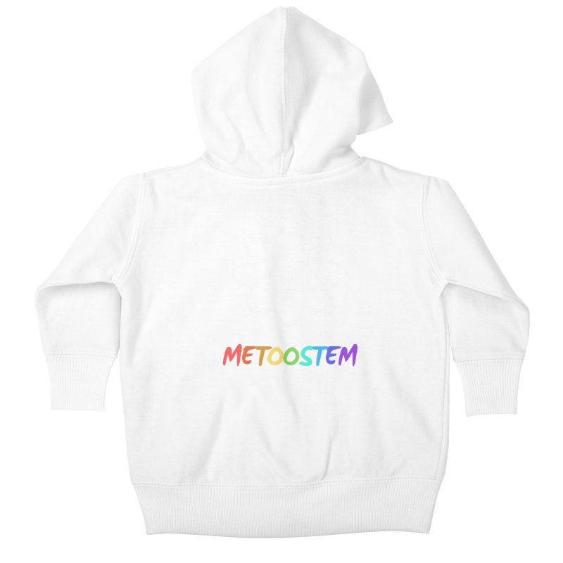 MeTooSTEM Rainbow Kids Baby Zip-Up Hoody by MeTooSTEM