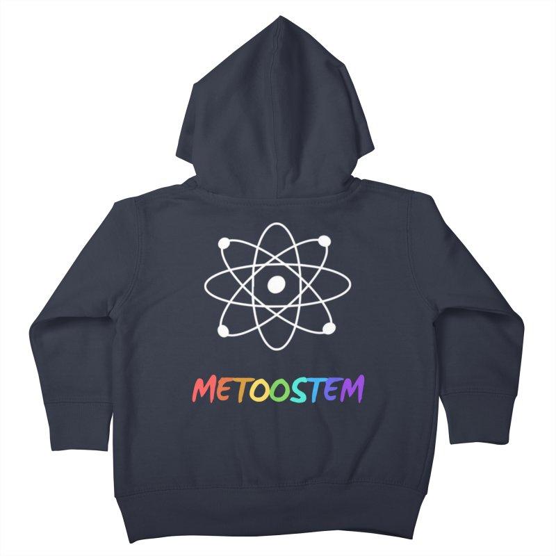 MeTooSTEM Rainbow Kids Toddler Zip-Up Hoody by MeTooSTEM