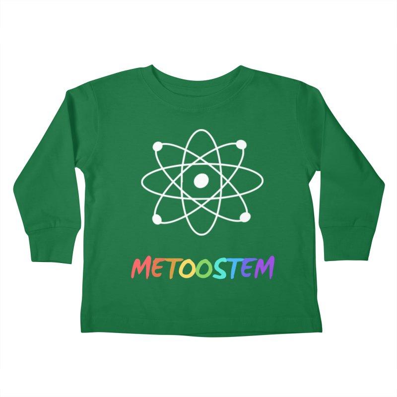 MeTooSTEM Rainbow Kids Toddler Longsleeve T-Shirt by MeTooSTEM