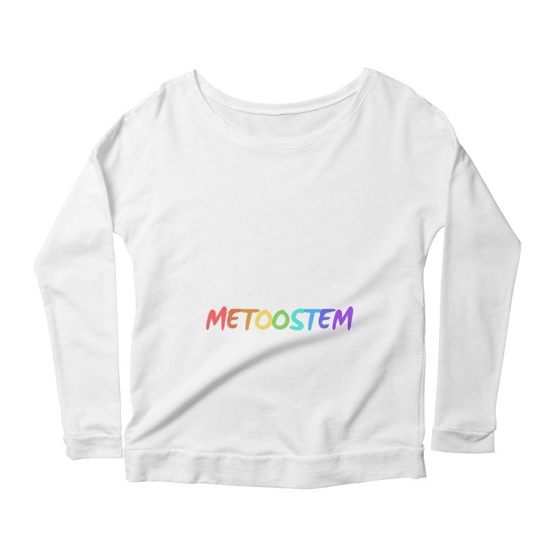 MeTooSTEM Rainbow Women's Scoop Neck Longsleeve T-Shirt by MeTooSTEM