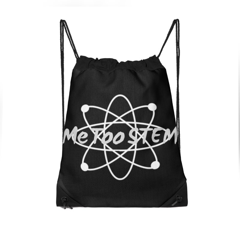 MeTooSTEM Atom Accessories Drawstring Bag Bag by MeTooSTEM