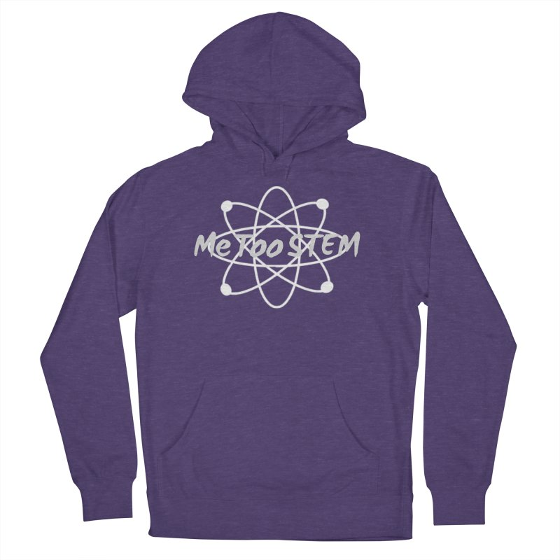MeTooSTEM Atom Men's French Terry Pullover Hoody by MeTooSTEM