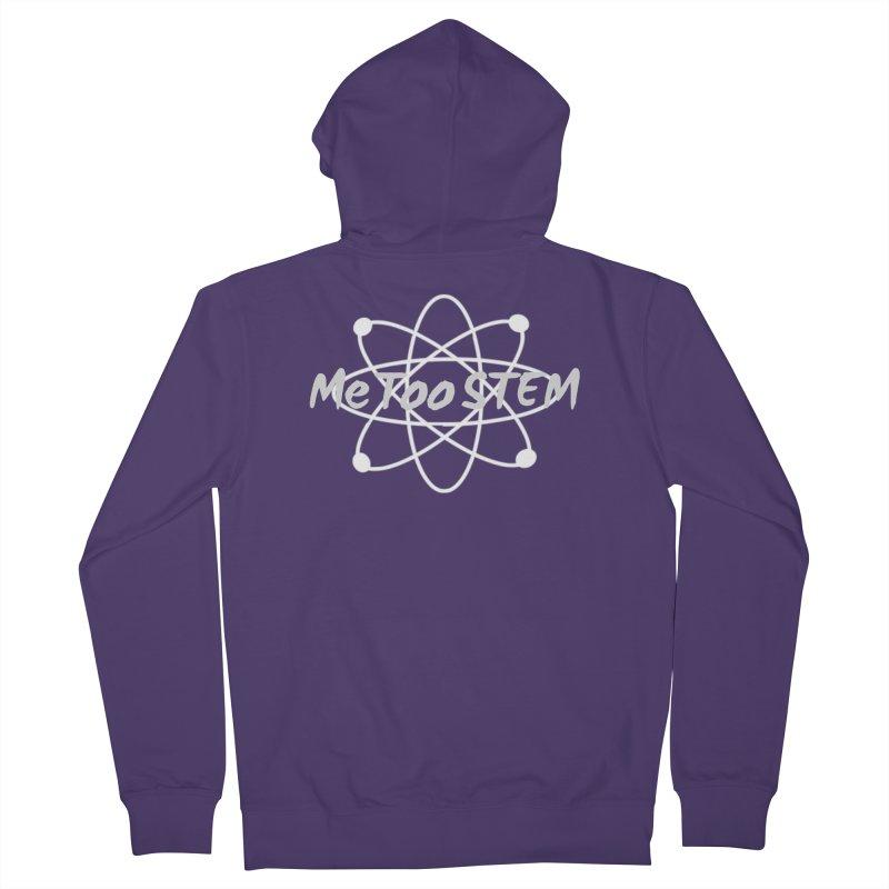 MeTooSTEM Atom Women's French Terry Zip-Up Hoody by MeTooSTEM