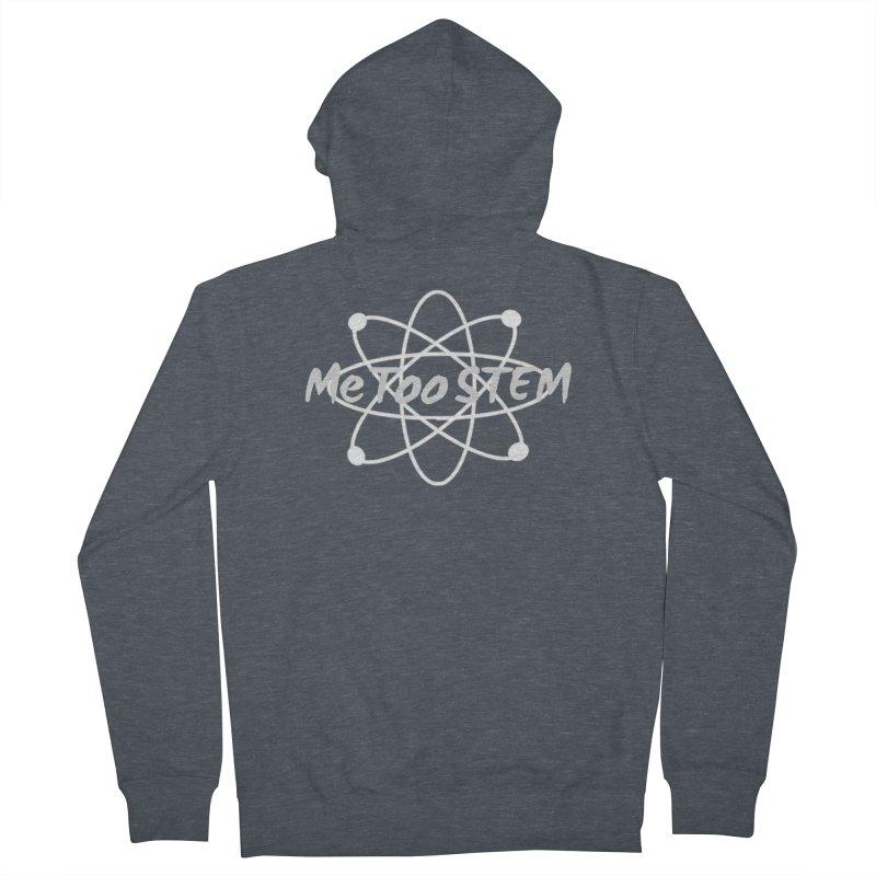 MeTooSTEM Atom Men's French Terry Zip-Up Hoody by MeTooSTEM
