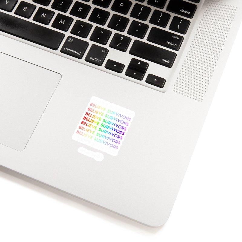 Believe Survivors - Rainbow Accessories Sticker by MeTooSTEM
