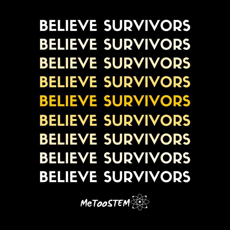 Believe Survivors - Yellow Women's Tank by MeTooSTEM