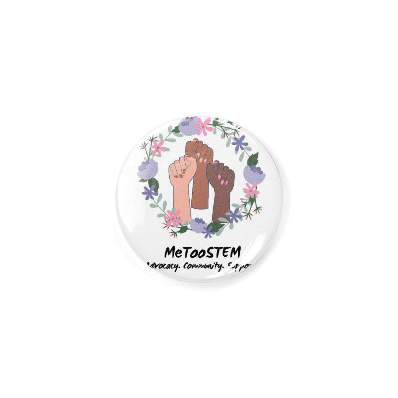 MeTooSTEM - Floral Accessories Button by MeTooSTEM
