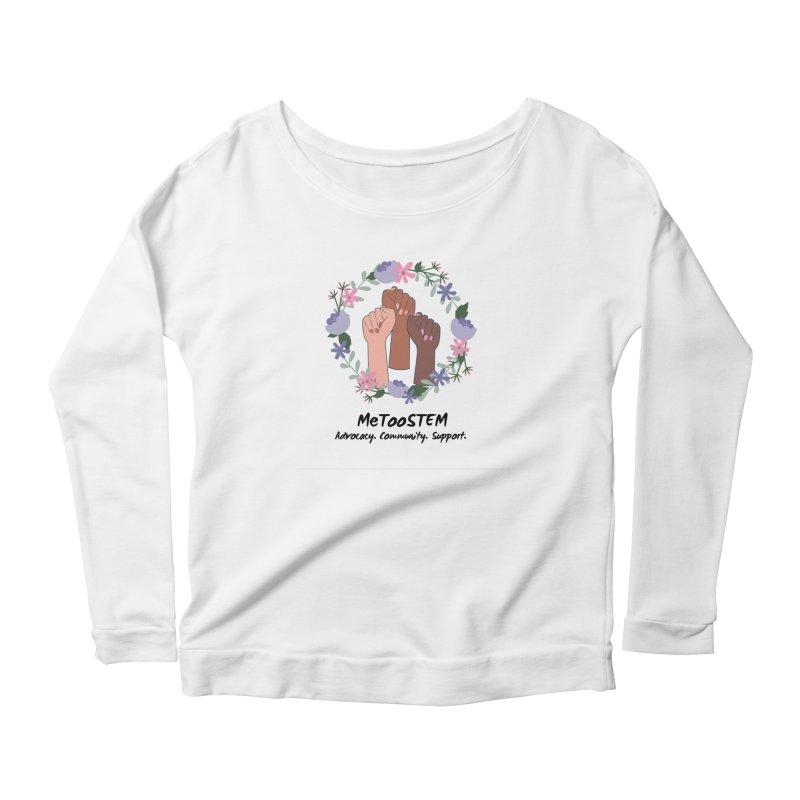 MeTooSTEM - Floral Women's Scoop Neck Longsleeve T-Shirt by MeTooSTEM