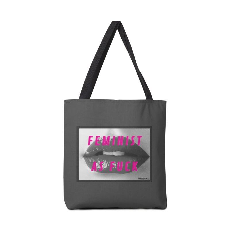 Feminist as Fuck Accessories Tote Bag Bag by MeTooSTEM