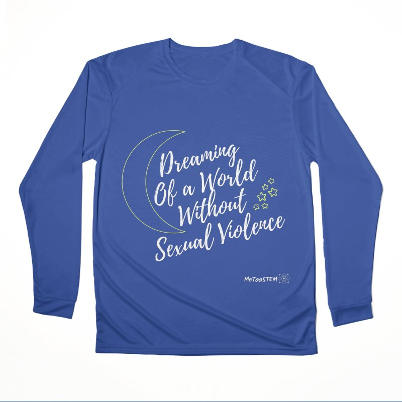 Dreaming of a World Men's Longsleeve T-Shirt by MeTooSTEM