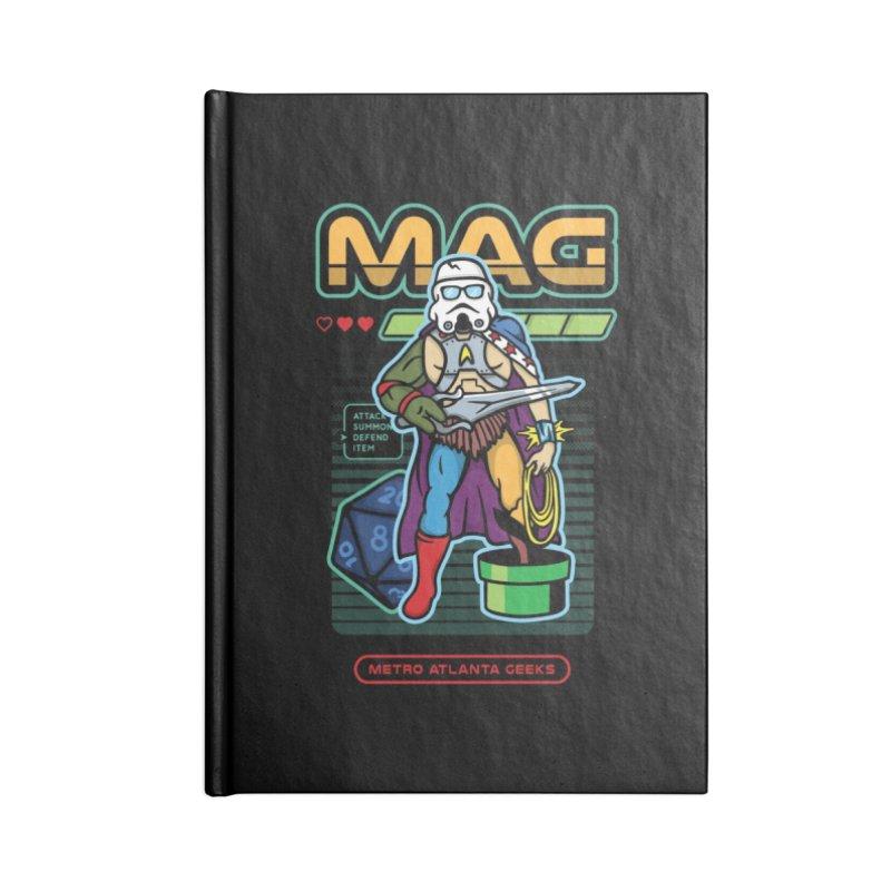 Metro Atlanta Geeks 2018 Accessories Lined Journal Notebook by ATL Geek Merch Shop