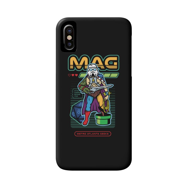 Metro Atlanta Geeks 2018 Accessories Phone Case by MAG Official Merch