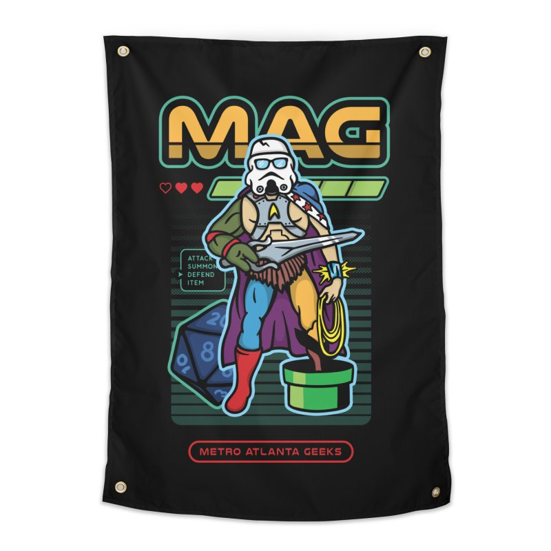 Metro Atlanta Geeks 2018 Home Tapestry by MAG Official Merch