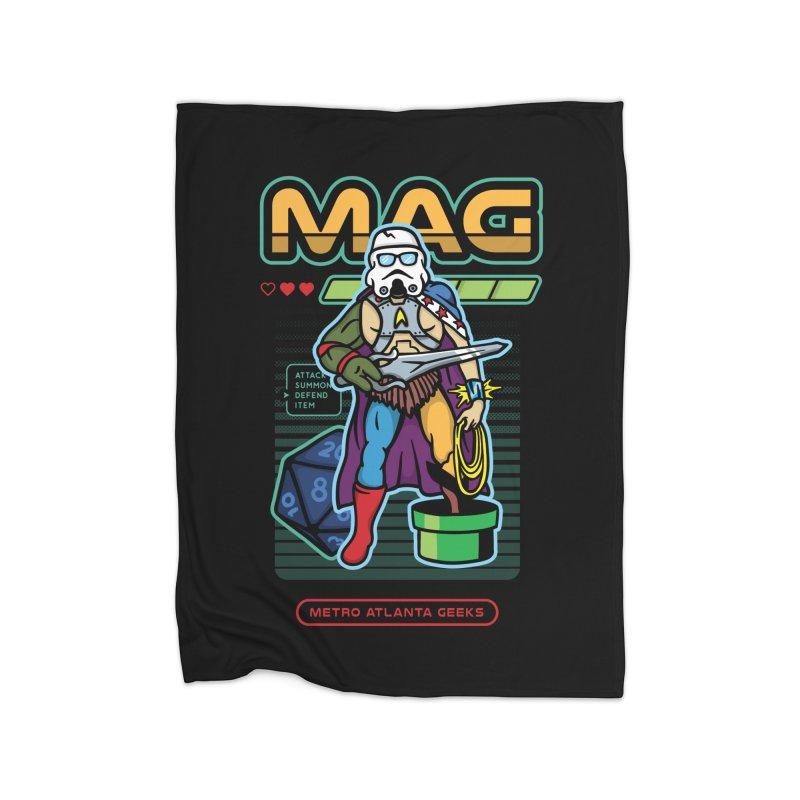 Metro Atlanta Geeks 2018 Home Blanket by MAG Official Merch