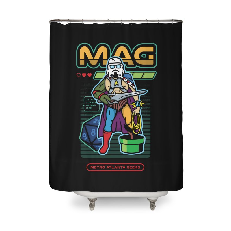 Metro Atlanta Geeks 2018 Home Shower Curtain by MAG Official Merch