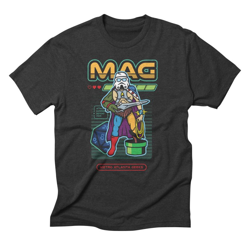 Metro Atlanta Geeks 2018 Men's T-Shirt by ATL Geek Merch Shop