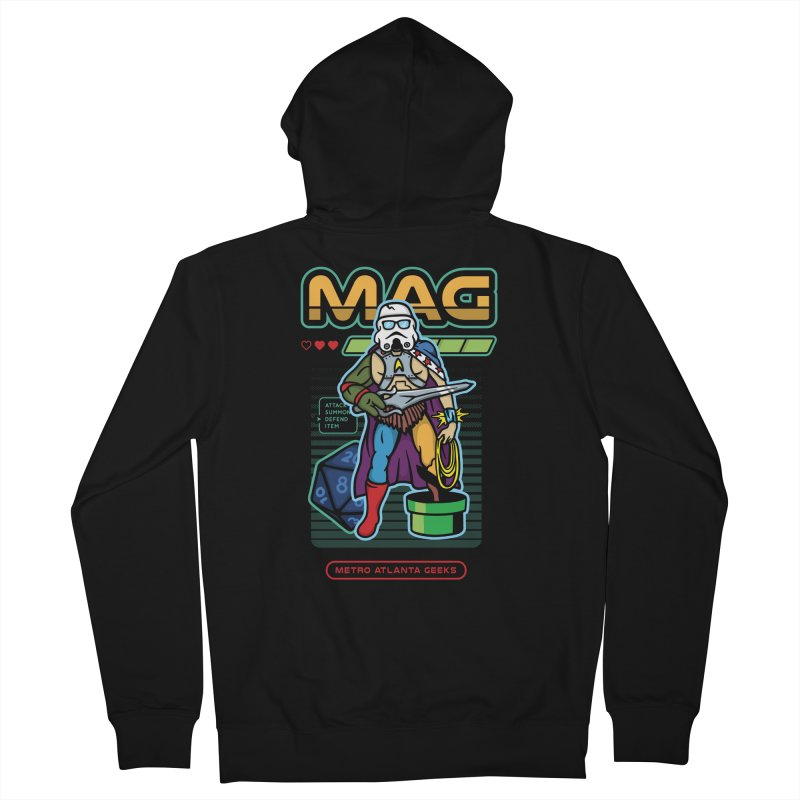Metro Atlanta Geeks 2018 Women's Zip-Up Hoody by MAG Official Merch