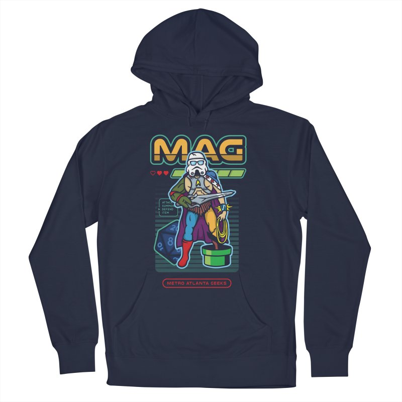 Metro Atlanta Geeks 2018 Women's French Terry Pullover Hoody by MAG Official Merch