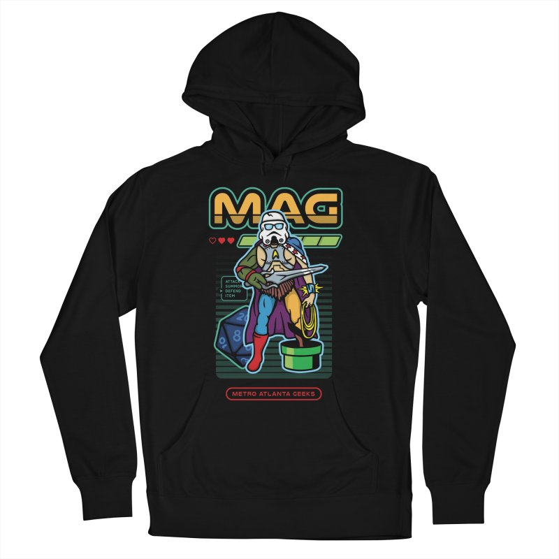 Metro Atlanta Geeks 2018 Men's French Terry Pullover Hoody by MAG Official Merch