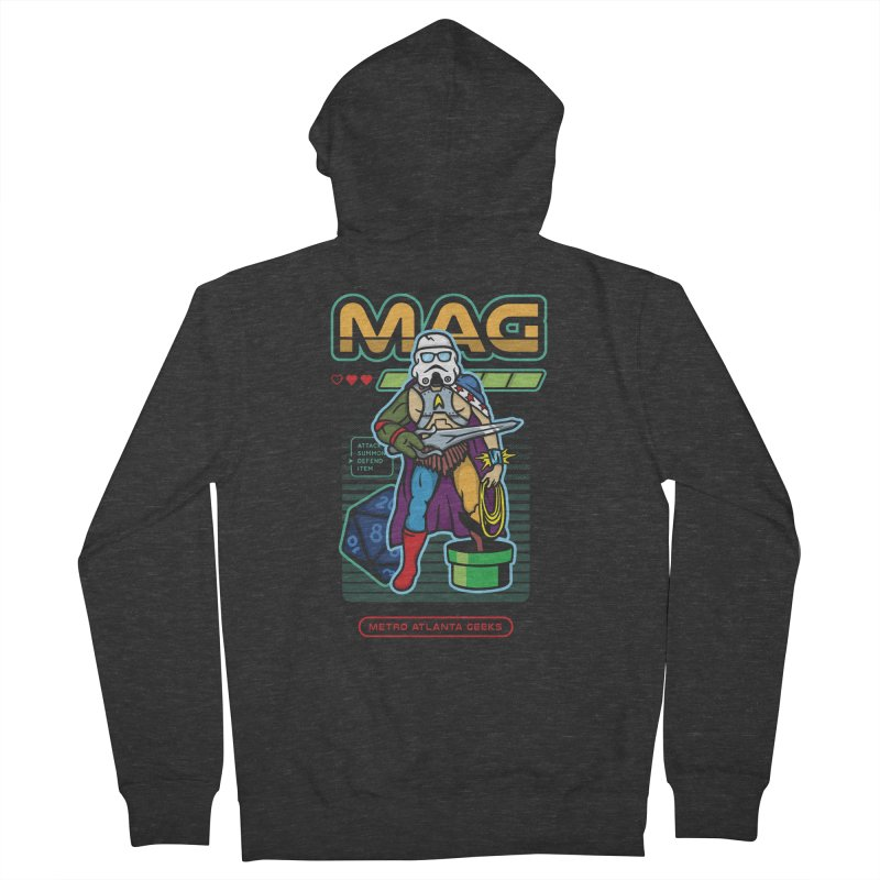 Metro Atlanta Geeks 2018 Men's French Terry Zip-Up Hoody by MAG Official Merch