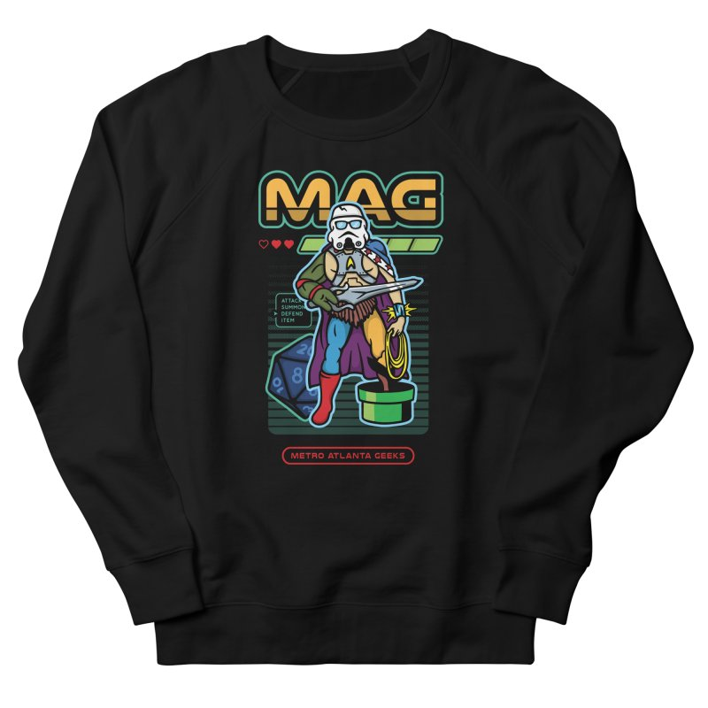 Metro Atlanta Geeks 2018 Men's Sweatshirt by ATL Geek Merch Shop