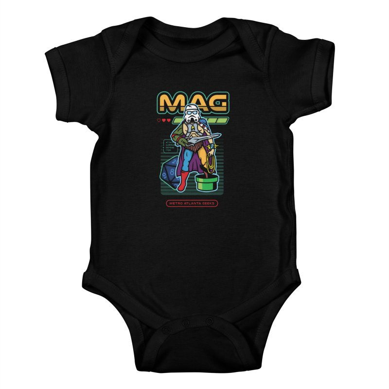 Metro Atlanta Geeks 2018 Kids Baby Bodysuit by MAG Official Merch